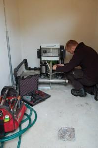 Grundfos pumper, service på pumpeanlegg