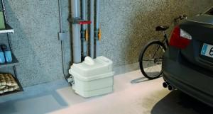 Saniflo pumper og  pumpestasjon til hus og hytter